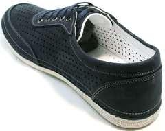 Кроссовки для повседневной жизни Vitto Men Shoes 3560 Navy Blue.