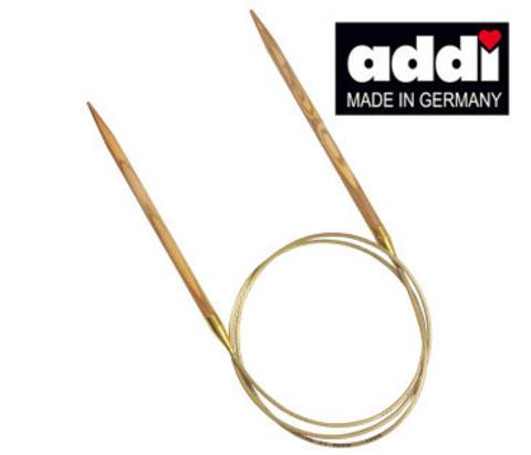 Спицы круговые из оливкового дерева 80 см ADDI NATURE - 5,5 мм арт. 575-7/5.5-80