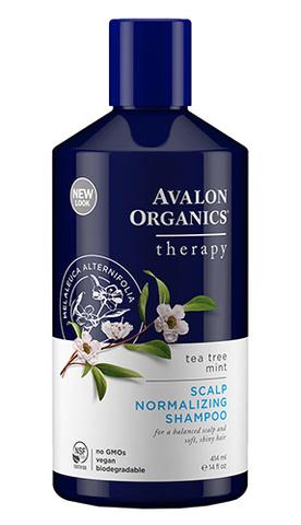 Терапевтический антисеборейный шампунь с чайным деревом, Avalon Organics
