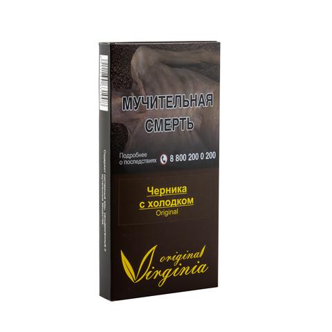 Табак Virginia Original Черника с Холодком 50 г