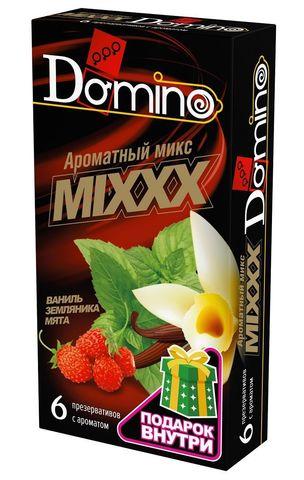 Ароматизированные презервативы DOMINO