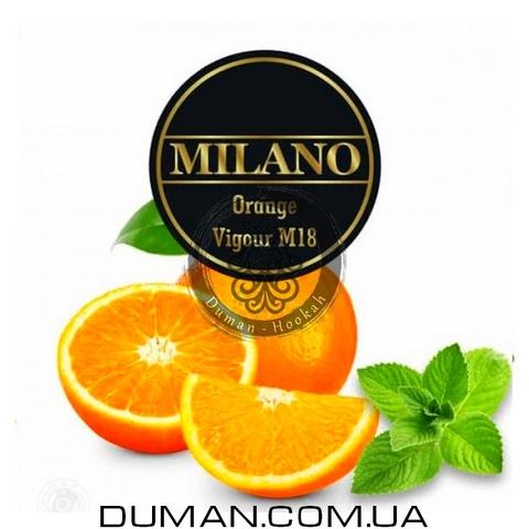 Табак Milano M18 Orange vigour (Милано Апельсин Мята)