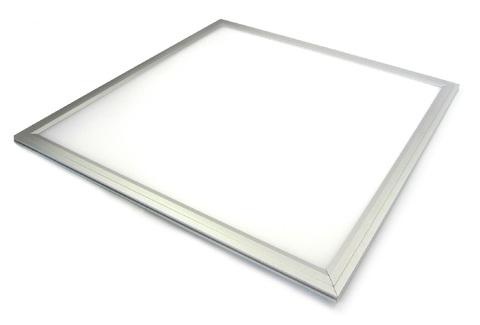 Ультратонкая светодиодная панель серии СВО 295х295, 14 Вт, 6000 К, хром, Народная (без драйвера)