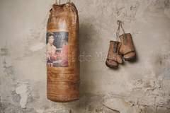 Боксерская груша Secret De Maison Роки (ROCKY) ( mod. M-1202 ) — коричневый