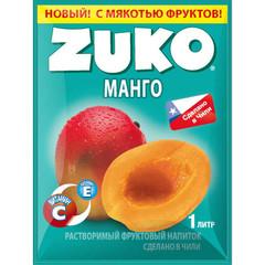 Растворимый напиток Zuko Манго (блок 12 пакетов)