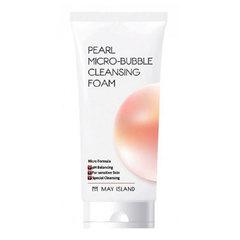 May Island Pearl Micro-Bubble Cleansing Foam - Пенка для умывания