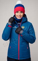 Утеплённая прогулочная лыжная куртка Nordski Patriot женская