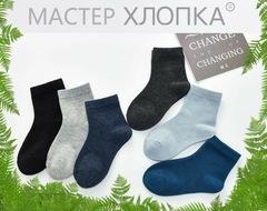 Носки детские для мальчиков (10 пар) арт.DA7010 (разм  5-8)