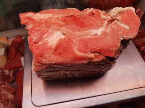 Обрезь говяжья замороженная