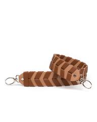 Плечевой ремень Ириска с ручным плетением