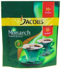 Кофе растворимый Jacobs Monarch 33г
