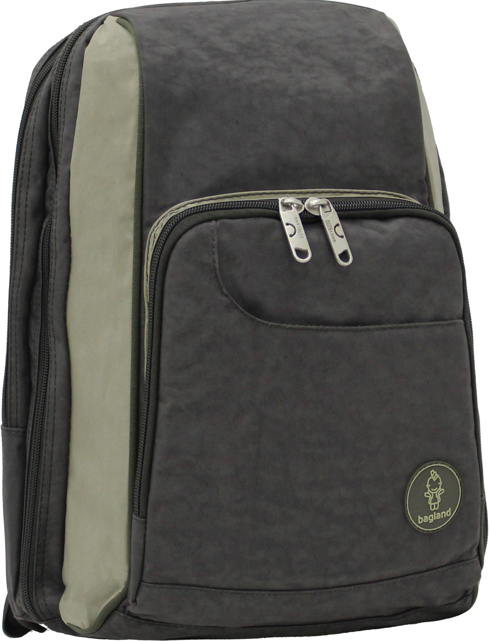 Школьные рюкзаки Школьный рюкзак Bagland Стингер 16 л. Хаки/оливка (0014970) IMG_0435.JPG