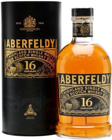 Виски Aberfeldy 16 Years Old, in tube, 0.7 л