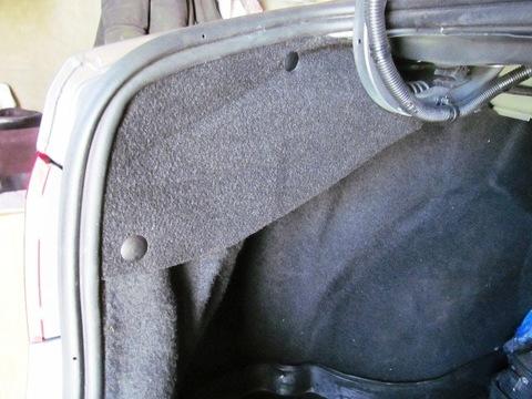Обивки ворсовые пружин багажника Лада Веста седан (комплект)