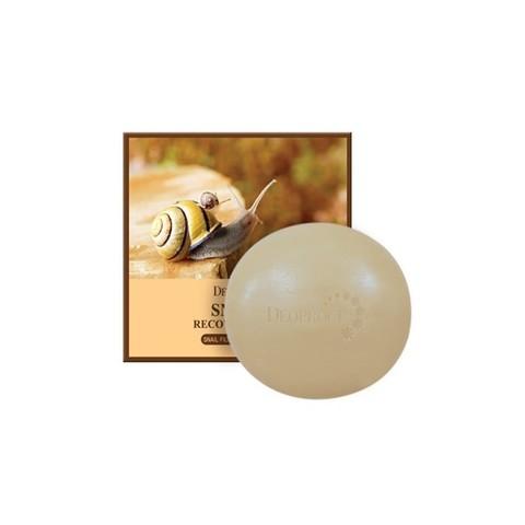 Мыло с улиточным муцином  DEOPROCE SOAP SNAIL 100 гр