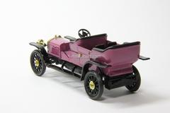 Russo-Balt C24-30 Double-Phaeton 1909 burgundy Agat Mossar Tantal 1:43