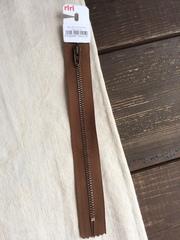 Молния джинсовая №4, Riri, 18см, светло-коричневый
