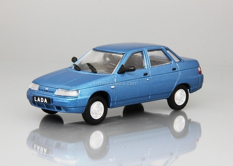 VAZ-2110 Lada 110 1995-2007 light blue 1:43 DeAgostini Auto Legends USSR #226