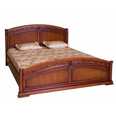 Кровать Валенсия 200х160 (С05) (MK-1740-DN) цвет: Тёмный орех