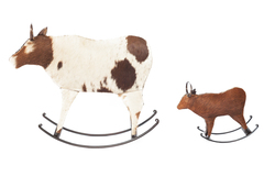 Декор Secret De Maison COW FAMILY ( mod. MA-1300 ) — Белый/коричневый (butter white/brown)