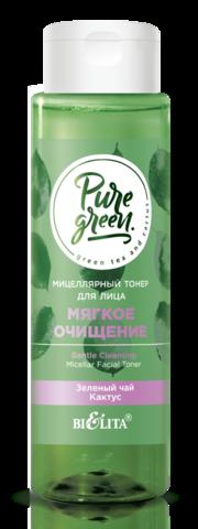 Белита PURE GREEN Тонер мицеллярный для лица