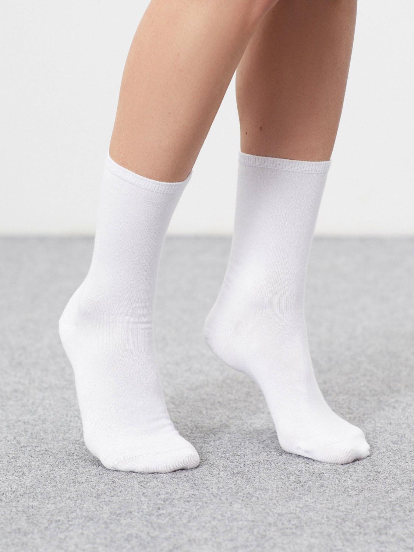 Хлопковые носки gate31 белого цвета