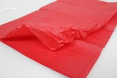 Бумага тишью красная 76 х 50 см, 10 листов 28 г/м