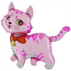 F Мини-фигура Милый котенок (розовый), 14''/34 см, 5 шт.