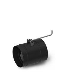 Шибер TMF ф150, 1,5мм, 08ПС, антрацит, прямой