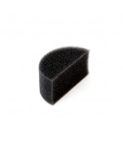 Спонж черный половинка плотный маленький 5 см