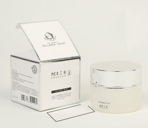 MED B Антивозрастной крем с коллагеном Premium Cream Collagen, 50 мл