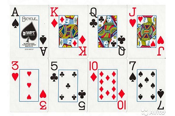 Карты для покера Bicycle WPT