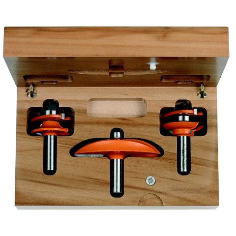 Набор для изготовления кухонной мебели, 3 фрезы СМТ С2