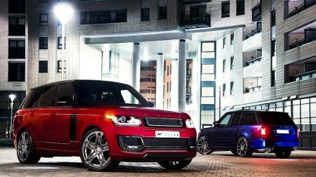 Обвес Kahn Design LE Carbon для Range Rover Vogue
