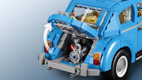 LEGO Creator: Фольксваген Жук 10252 — Volkswagen Beetle — Лего Креатор эксклюзив