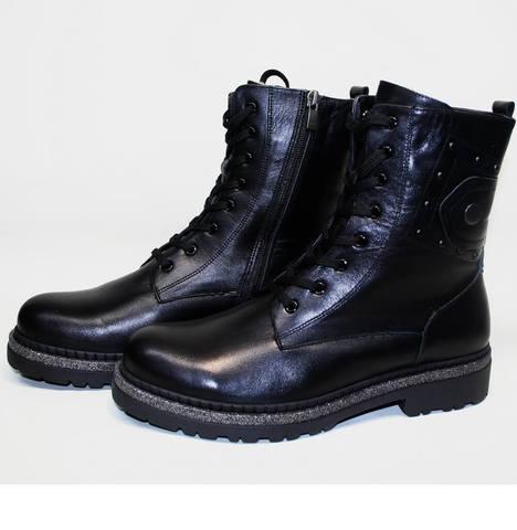 Берцы женские - ботинки женские зимние с мехом Vivo Antistres Lena 603