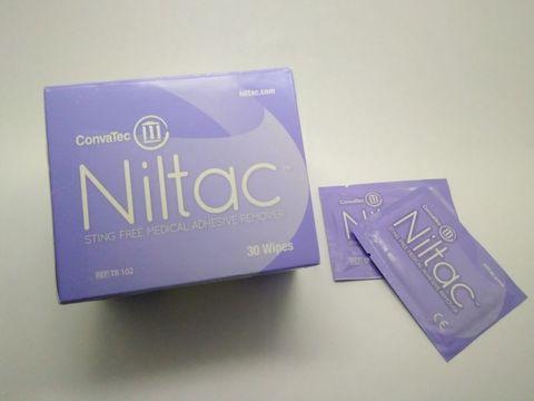Очиститель (салфетки) для кожи ConvaTec Niltac (КонваТек Нилтак) на силиконовой основе