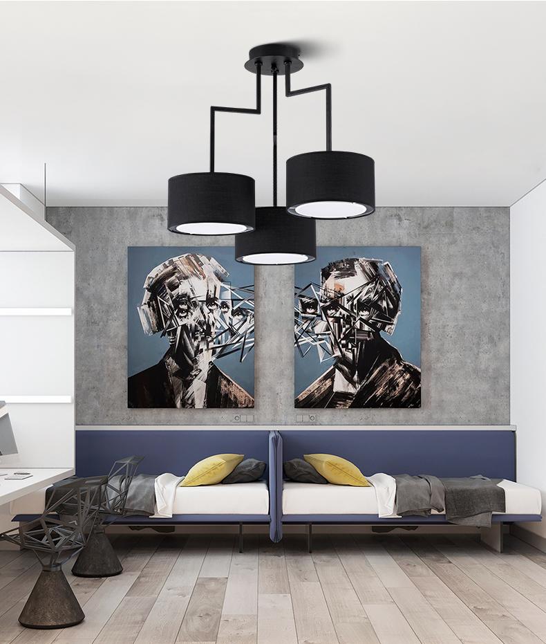 Потолочный светильник копия Noon 2 by Zeitraum (серый)