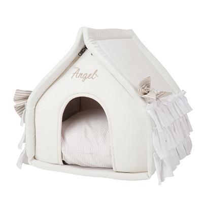 льняной домик для собак