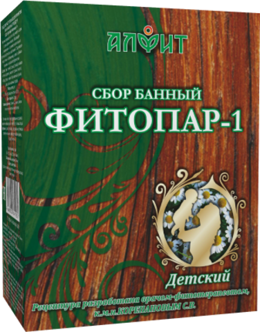 АЛФИТ сбор банный ФИТОПАР-1 Детский