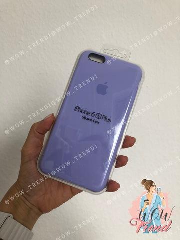 Чехол iPhone 6+/6s+ Silicone Case /glycine/ гортензия 1:1