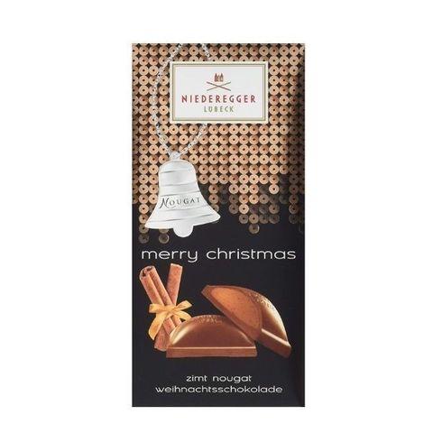 Рождественский шоколад с нугой и корицей Niederegger