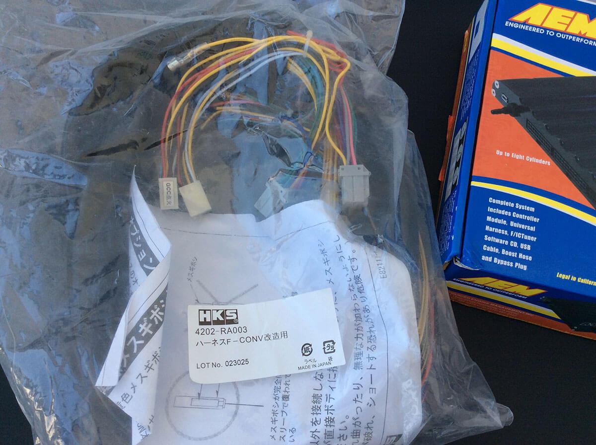 Harness kit HKS F-CON SZ, iS, F-CON V Pro Modification Harness 4202-RA003