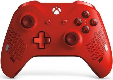 Xbox One Беспроводной геймпад (красный, особая серия, WL3-00028)