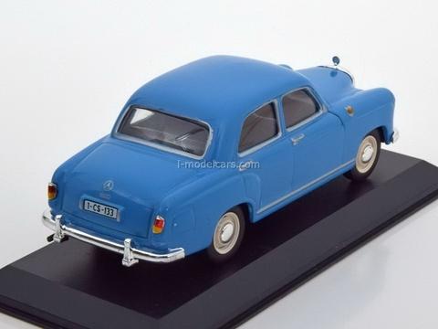Mercedes 180 Ponton Limousine blue 1:43 DeAgostini Masini de legenda #44