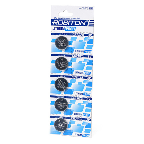 Элемент питания ROBITON PROFI CR2025 (3V)