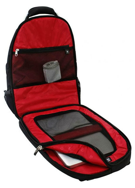 Рюкзак WENGER ScanSmart, цвет чёрный, отделение для ноутбука 15
