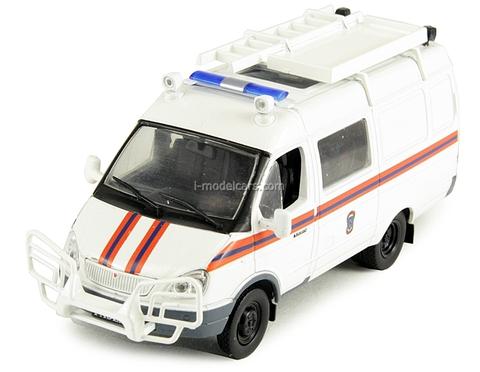 GAZ-2705 Gazelle ASM Emergency 1:43 DeAgostini Service Vehicle #37