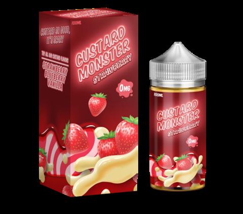 Custard Monster Original - Strawberry 100 мл