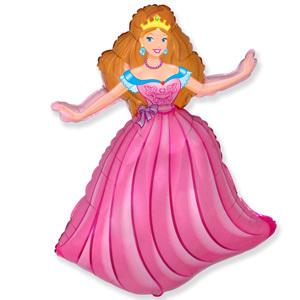 Фольгированный шар Принцесса 98 x 68 см